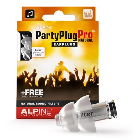 Alpine PartyPlug Pro Oordoppen / Gehoorbescherming