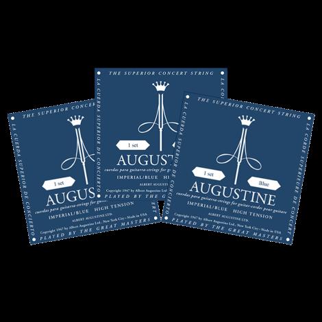Augustine Imperial Blue Triopack Klassieke Gitaarsnaren