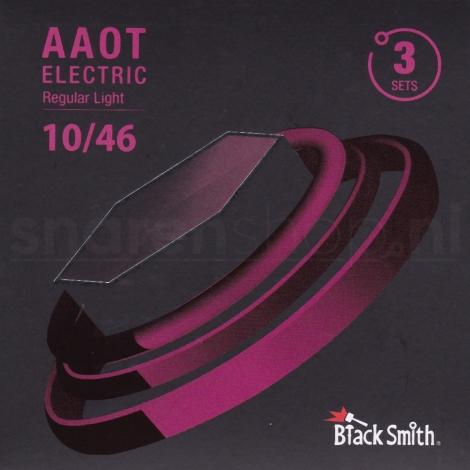 BlackSmith AANW-1046-3P Coated Elektrische Gitaarsnaren (10-46) 3-Pack
