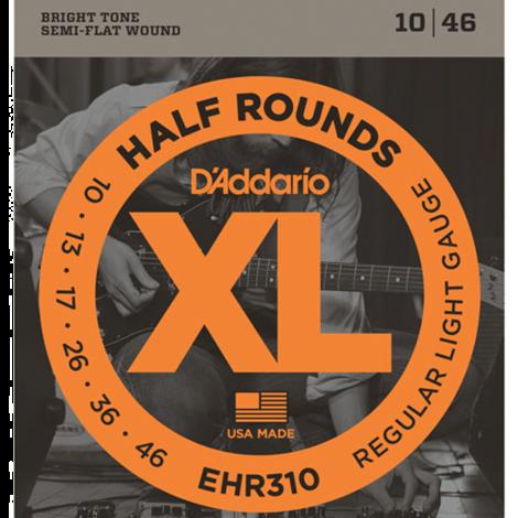 D'Addario EHR310 Half Round Snaren voor Elektrische Gitaar (10-46)