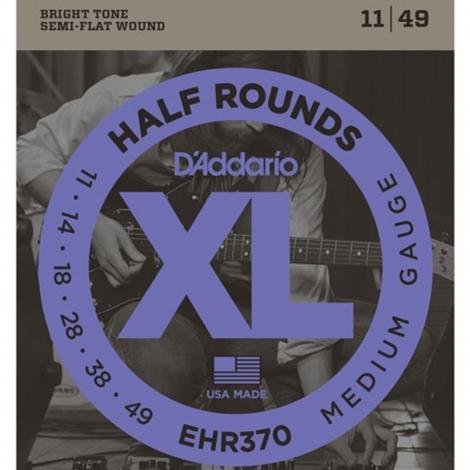 D'Addario EHR370 Half Round Snaren voor Elektrische Gitaar (11-49)