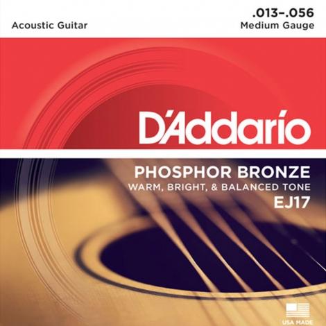 D'Addario EJ17 Snaren voor Akoestische Gitaar (13-56)