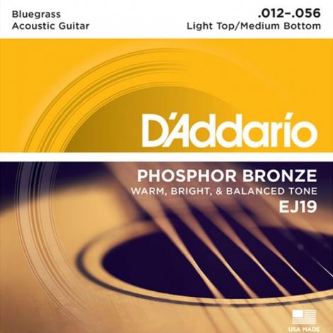 D'Addario EJ19 Bluegrass Snaren (12-56)