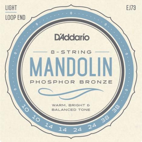 D'Addario EJ73 Mandoline Snaren (10-38)