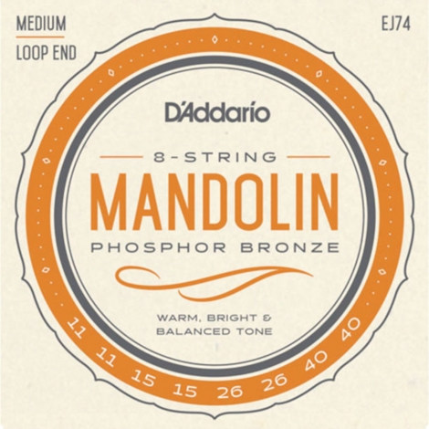 D'Addario EJ74 Mandolinesnaren (11-40)