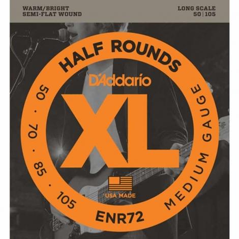 D'Addario ENR72 Bassnaren 1/2 Rounds (50-105) Long Scale