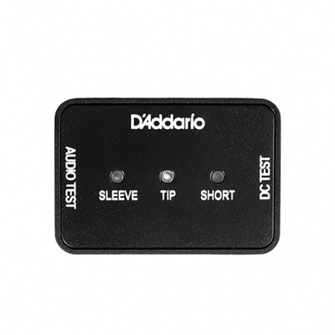 D'Addario PW-DIYCT-01 Stroom- en Audiokabel Tester