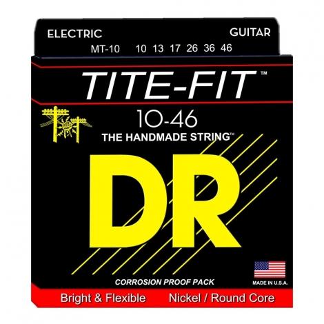 DR MT10 Tite-Fit Snaren voor Elektrische Gitaar (10-46) Medium