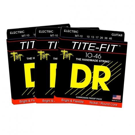 DR MT10 TiteFit Snaren 3-pack