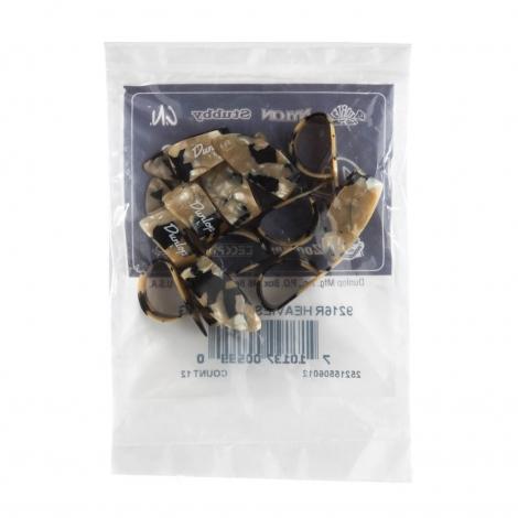 Dunlop 9216R Calico Large Duimplectrum 12-Pack