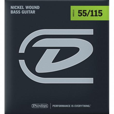 Dunlop DBN55115 Bassnaren Long Scale (55-115)