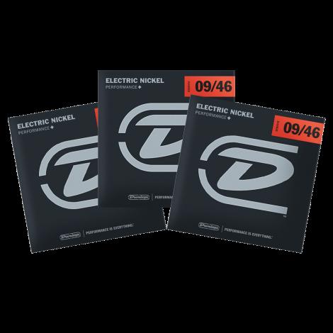 Dunlop DEN0946 Snaren voor Elektrische Gitaar (9-46) 3-Pack