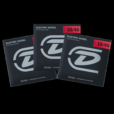 Dunlop DEN1046 Snaren voor Elektrische Gitaar (10-46) 3-Pack