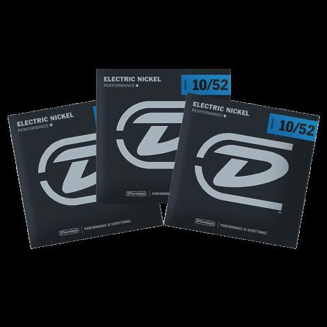 Dunlop DEN1052 Snaren voor Elektrische Gitaar (10-52) 3-Pack