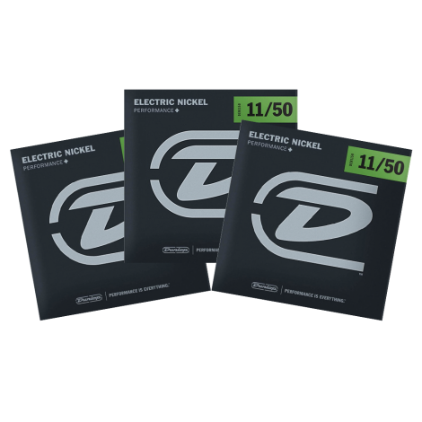 Dunlop DEN1150 Snaren voor Elektrische Gitaar (11-50) 3-Pack
