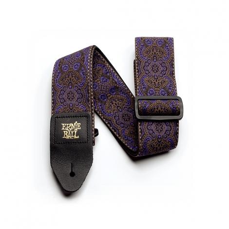 Ernie Ball 4164 Jacquard Gitaarband - Purple Paisley
