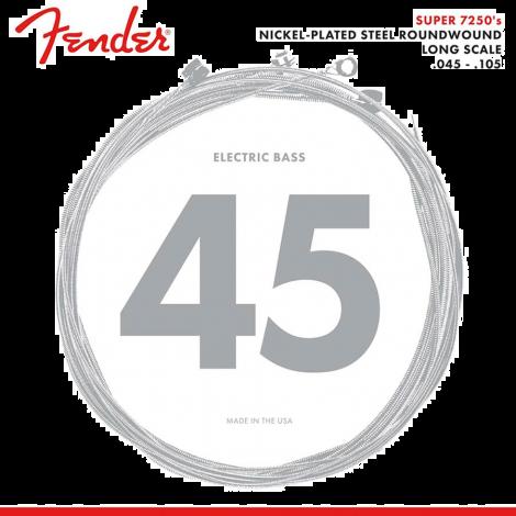 Fender 7250M Snaren voor Elektrische Basgitaar (45-105)