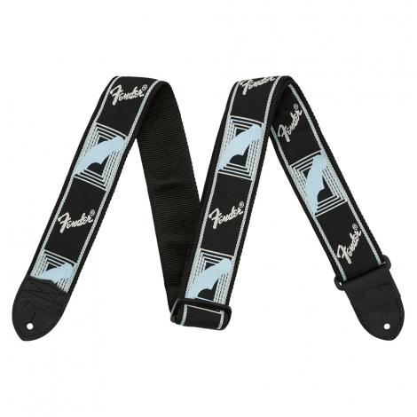 Fender Gitaarband Monostrap BK/GR/BL 0990681502