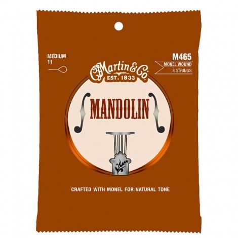 Martin M465 Monel Wound Snaren voor Mandoline (11-40)