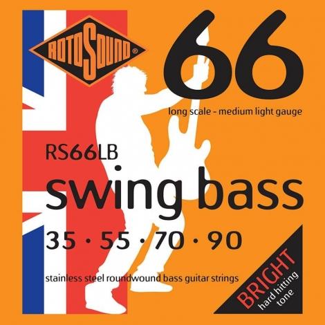Rotosound RS66LB Swing Bass 66 Bassnaren (35-90) Medium Light