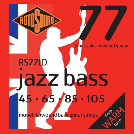 Rotosound RS77LD Flatwound Bassnaren (45-105)