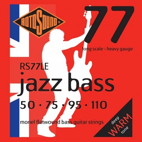 Rotosound RS77LE Flatwound Bassnaren (50-110)