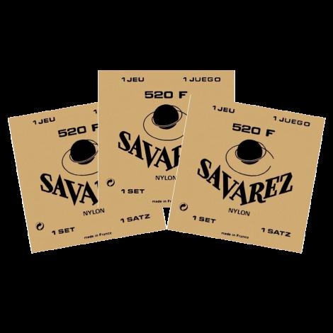 Savarez 520F Klassieke Gitaarsnaren 3-Pack