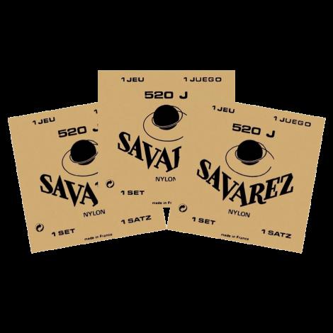 Savarez 520J Klassieke Gitaarsnaren 3-Pack