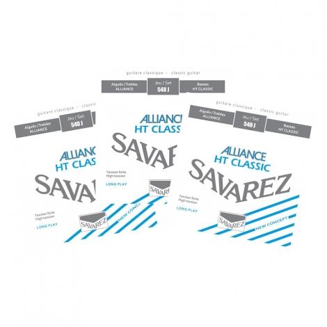Savarez 540J Alliance Gitaarsnaren 3-Pack