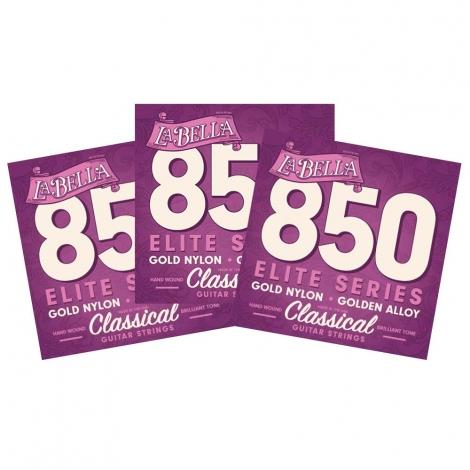 La Bella 850 Klassieke Gitaarsnaren 3-Pack