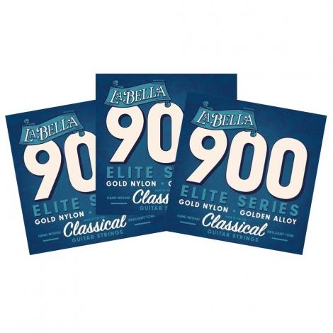 La Bella 900 Klassieke Gitaarsnaren 3-Pack