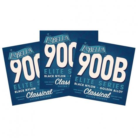 La Bella 900B Klassieke Gitaarsnaren 3-Pack