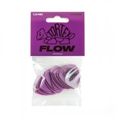 Dunlop 558P114 Tortex Flow Plectrum 1.14mm 12-Pack