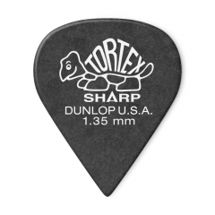 dunlop tortex 1.35mm plectrum