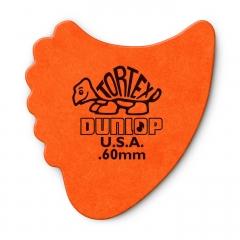 dunlop tortex sharkfin 0.60mm plectrum