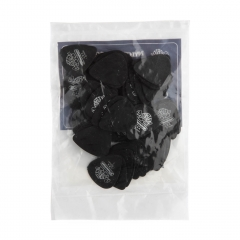 dunlop tortex pitch black 1.0mm plectrum