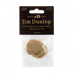 Dunlop 442P60 50th Anniversary Plectrum - 12 Pack