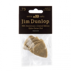 Dunlop 442P73 50th Anniversary Plectrum - 12 Pack