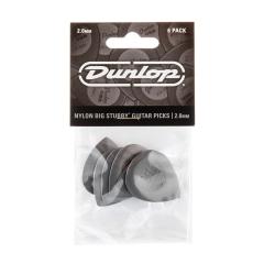 Dunlop 445P20 Nylon Big Stubby Plectrum 2.0mm 6-Pack