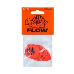 Dunlop 558P060 Tortex Flow Plectrum .60mm 12-Pack