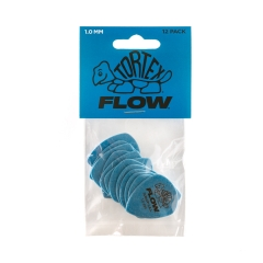 Dunlop 558P100 Tortex Flow Plectrum 1.0mm 12-Pack