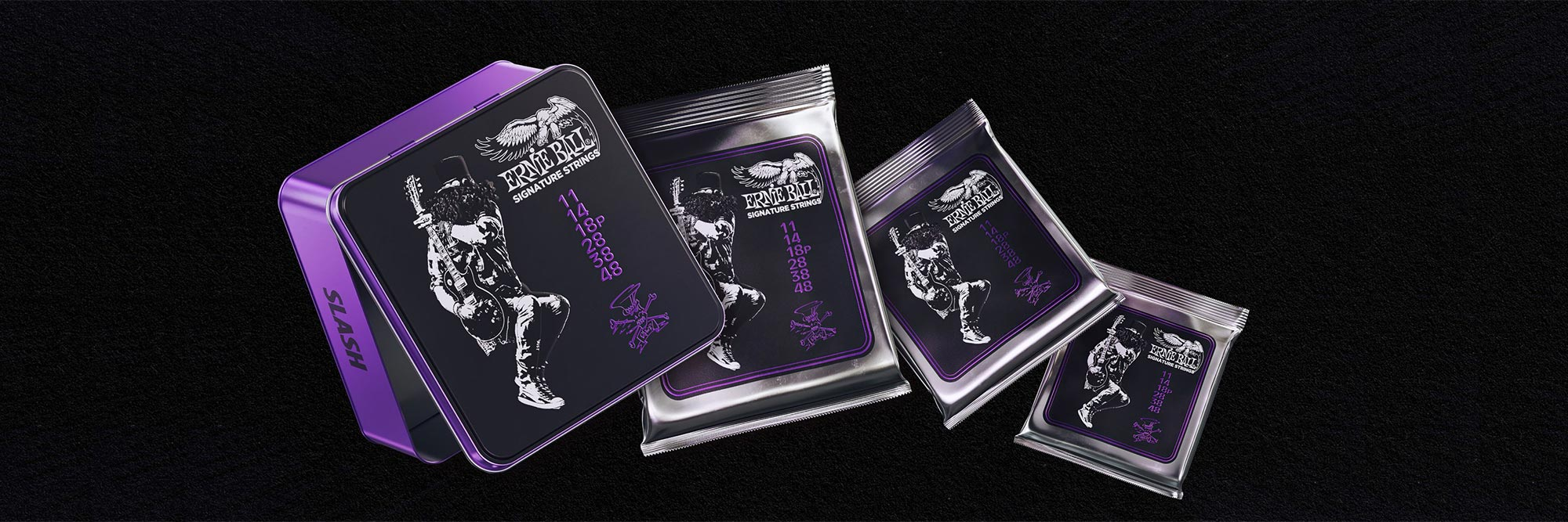 LIMITED EDITION: Slash Signature Gitaarsnaren van Ernie Ball!