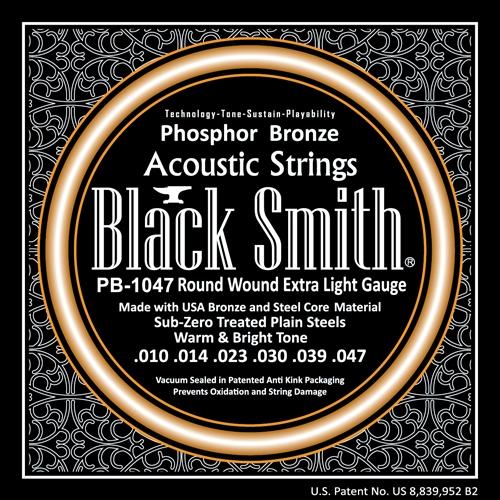 BlackSmith PB-1047 Akoestische Gitaarsnaren Phosphor Bronze (10-47)