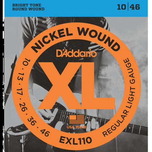 D'Addario EXL110 Snaren voor Elektrische Gitaar (10-46)